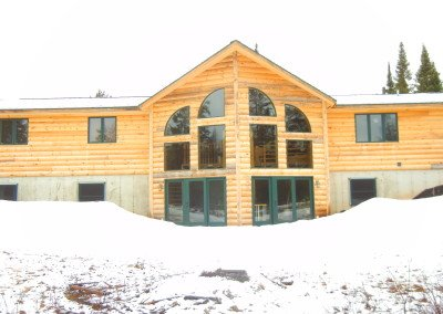 Log Home Refinish Rhinelander WI