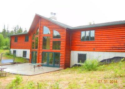 Log Home Restoration Northern Wisconsin
