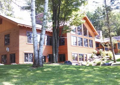 Log Home Restoration Company Northern Wisconsin