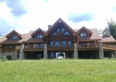 Log Home Maintenance Rhinelander WI