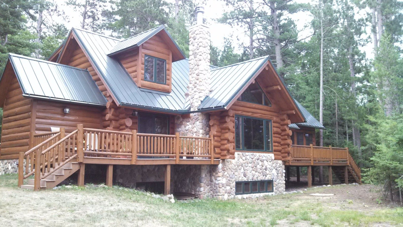Log Home Chinking and Caulking WI