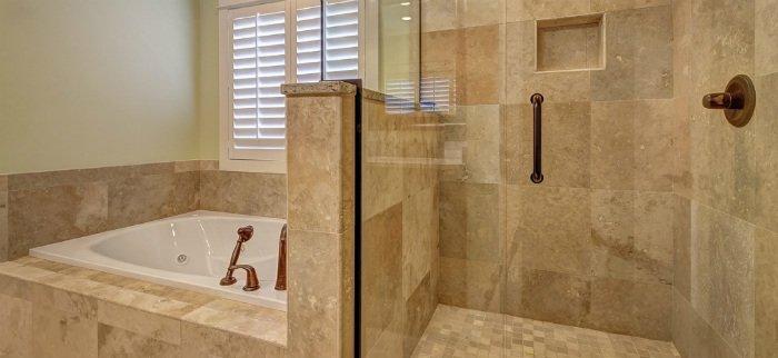 Photo High End Bathroom Remodel